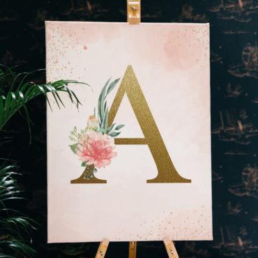 Canvas-Initiala-Nume