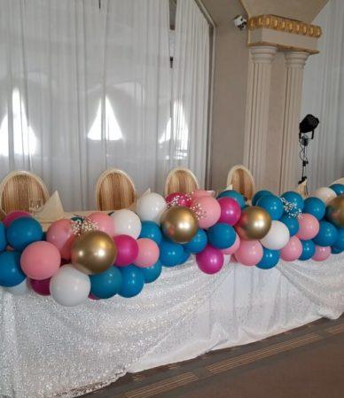 Ghirlanda de Baloane Masa Prezidiu